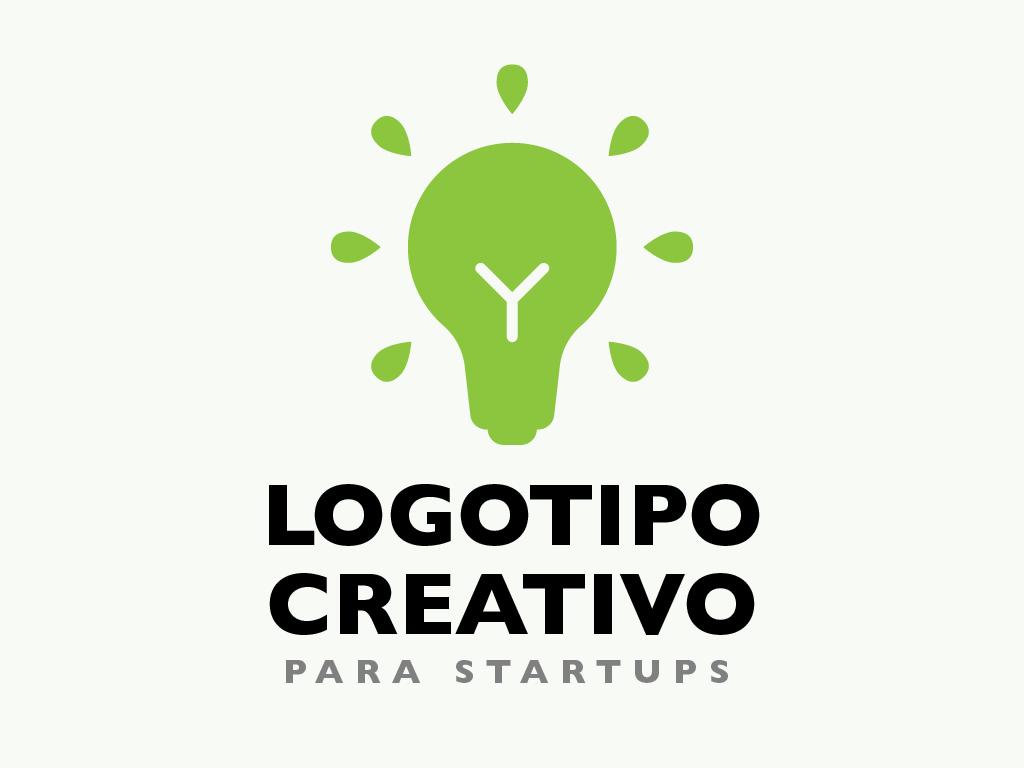 Logotipo creativo para startups